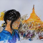 Viaggio in Myanmar la Grande Pagoda D'Oro