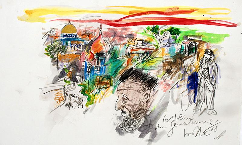 Cartolina da Gerusalemme