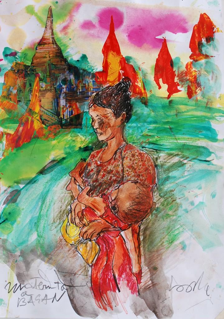 Maternità Birmania